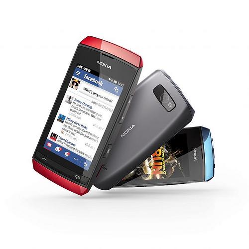 Nokia Asha 305 dual sim mobiltelefon